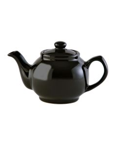 Black Stoneware Teapot 1100ml