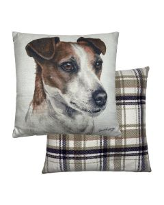 Jack Russell Cushion Cover  WaggyDogz) – Viceni Limited