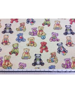 New World Teddy Bear Tapestry Fabric