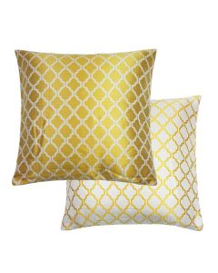 """Cotswold Ochre Gold Reversible Cushion Cover 18"""" & 22"""" to Match Curtains."""