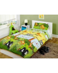 Jungtle Cheeky Monkey Single Duvet