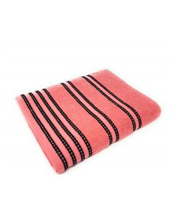 Sirocco Coral Combed Cotton Towels