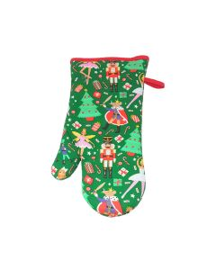 Christmas Nutcracker Oven Glove Gauntlet