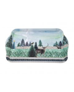 Christmas Deer Stag Reindeer Winter scene Snack Serving Tray