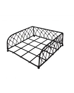Dining Room Napkin Holder Knotted Wire Black