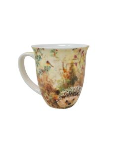 Autumn Hedgehog Porcelain China Boxed Mug 0.4L