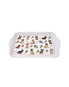 Christmas Dog Party Snack Tray