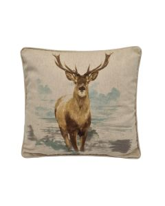 PCJ - Stag Cushion Cover 17""