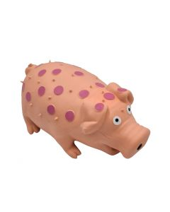 Large Dog Toy Pink realistic Pig noise Squeaky Acrylic
