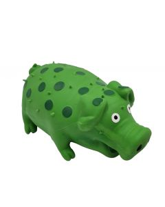 Large Dog Toy Green realistic Pig noise Squeaky Acrylic