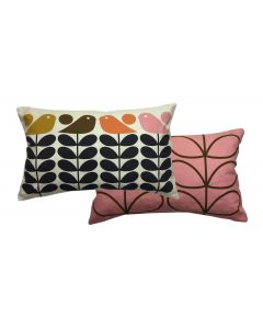 Orla Kiely Early Bird Summer 30cm x 50cm Filled Cushion