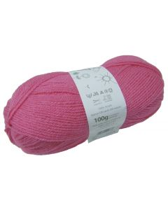 100g Ball of Big Value Baby Double Knit Wool in Blush Pink
