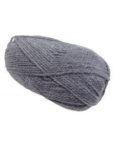 100g Ball of Big Value Chunky Grey Yarn