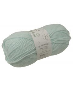 100g Ball of Big Value Baby Double Knit Wool in Nil Pastel Green