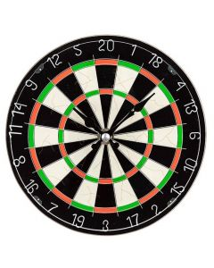 Boxed Dart Board Glass Wall Clock