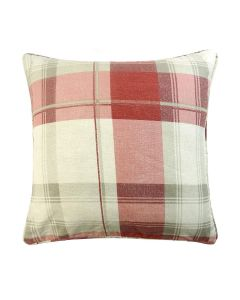 Balmoral Ruby Cotton Cushion