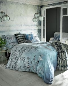 Rita Ora Latimer Teal Bedding Set