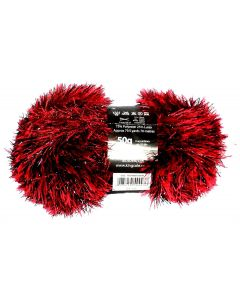 50g Ball of Tinsel Chunky Wool in Matador Red