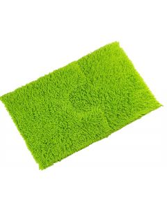 Tumble Twist Lime Green Bath Mat & Pedestal Mat