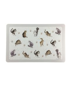 Wrendale Cats Indoors and Outdoors Flexible Placemat