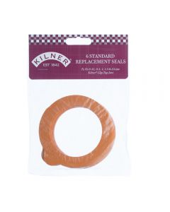 Kilner 6 Standard Rubber Replacement Seals