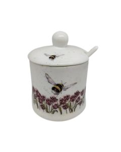 Bumble Bee Wrendale Conserve Pot With Spoon