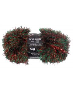 50g Ball of Tinsel Chunky Christmas Wool