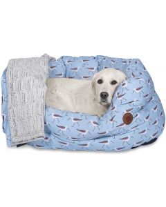 SANDPIPER OVAL DOG BED PETFACE