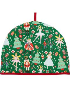 "Christmas Nutcracker Tea Cosy Cozy 14"" x 10"" - 36 x 16cm"