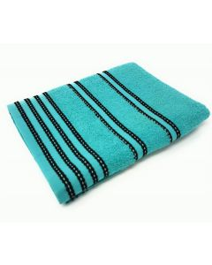 Sirocco Turquoise Combed Cotton Towels