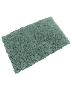 Tumble Twist Blue Bath Mat & Pedestal Mat