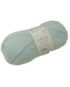 100g Ball of Big Value Baby Double Knit Wool in Turquoise