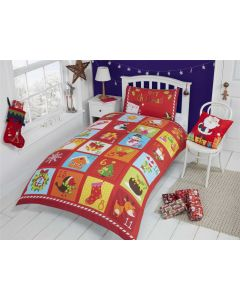 Advent Panel Multi Single Duvet Cover
