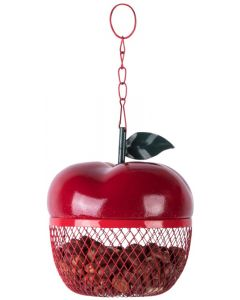 Esschert Design Apple Shaped Bird Feeder