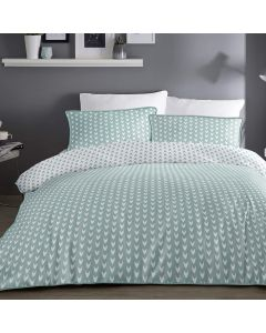 Appletree Duck Egg Dari Duvet Cover Set