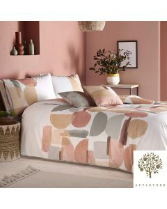 Appletree Coral Duval Duvet Cover Set