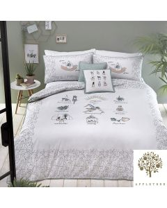 Appletree Multi Wellbeing Duvet Cover Set
