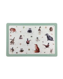 Wrendale Country Animals Indoors and Outdoors Flexible Placemat