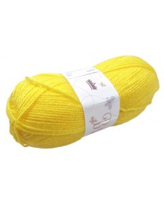 100g Ball of Double Knit Wool Gold