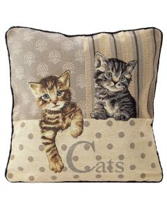 Cats Tapestry Cushion