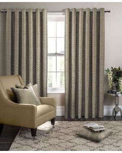 Studio G Campello Olive Green Ring Top Curtains