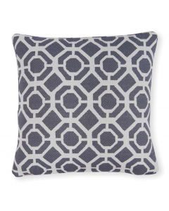 "Studio G Castello Indigo Blue 18"" Filled Cushion"
