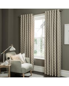 Studio G Castello Mushroom Ring Top Curtains