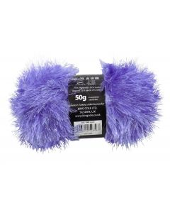 50g Ball of Tinsel Chunky Wool in Lilac