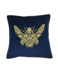"Cerana Royal Blue Cushion 20"" - 50cm"