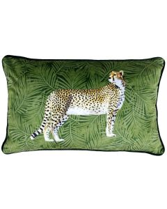 Cheetah Forest Green 30 x 50 Cushion