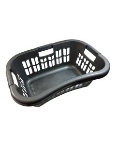 Laundry Bin Large Basket Grey WhiteFurze