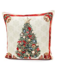 Peggy Wilkins Deck The Halls Cushion