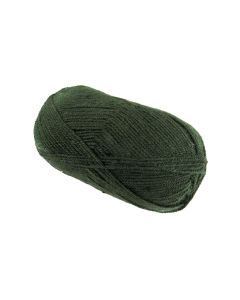 100g Ball of Double Knit Wool Gorse Green
