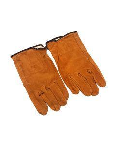 Pig Grain Leather Gardening Gloves